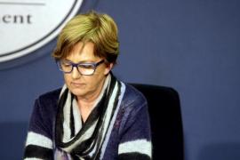 Joana Lluïsa Mascaró presenta su renuncia  como diputada en el registro del Parlament