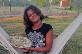 Victoria Hernández nos presenta su carpaccio de calabacín.