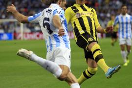 El Málaga lo deja para Dortmund ante un Borussia superior (0-0)