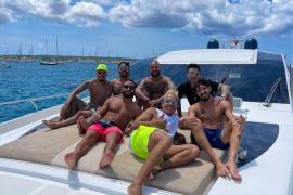 Neymar vuelve a escoger Baleares para desconectar