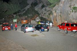 Intensa  búsqueda  de nueve senderistas perdidos en el Torrent de Pareis y sa Fosca