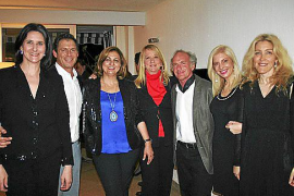 Cena entre amigos organizada por Christian Karis