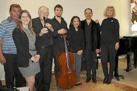 Concierto de Els Valldemossa en la Fundació Coll Bardolet