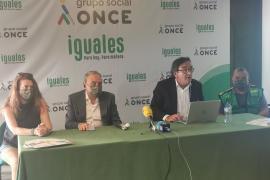 La ONCE atendió en 2020 a 1.245 personas con discapacidad visual en Baleares