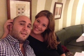 Francisco Rivera y Jessica Bueno