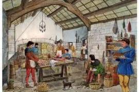 Taller de cocina medieval