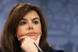 La vicepresidenta del Gobierno condena el «escrache» ante su casa