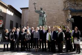Palma acoge un acto conmemorativo  de la marcha de Fray Juníper Serra