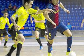 El Barça somete a un serio correctivo al Fisiomedia Manacor