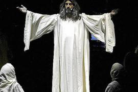 Jesucristo, 'superestrella' en Alcúdia