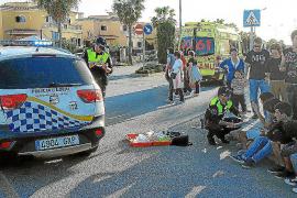Un conductor atropella en Llucmajor a un ciclista de 16 años y se da a la fuga