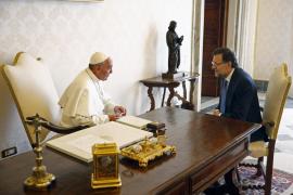 El Papa y Rajoy hablaron a solas durante 24 minutos