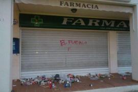Bauzá denuncia a través de Twitter actos vandálicos en su farmacia