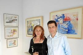 Margarita Forteza Villar expone acuarelas en Mirart de Santanyí