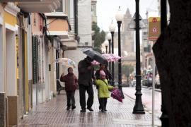 Las tormentas afectarán esta semana a Baleares y las temperaturas bajarán «bruscamente» el sábado