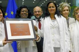 Las Damas de Blanco recogen el Premio Sájarov de la Eurocámara