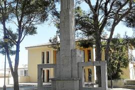 Son Servera proyecta desmontar el monumento de la cruz a los caídos