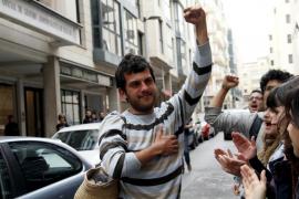 En libertad con cargos un joven detenido en Palma por agredir a un policía durante la manifestación 'Rodea el Congreso'