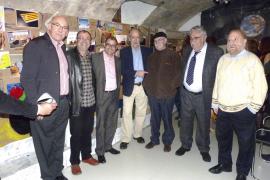 Inauguración de la exposición «Pep Roig. 40 años de Humor» en la galería El Temple