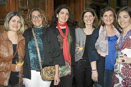 Inauguración del bar de la estación del tren de Sóller en Palma