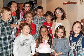 Cumpleaños de la nadadora Catalina Corró