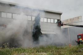 Controlados los dos incendios en Son Castelló y Mercapalma