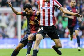 Un buen Athletic aplaza a última hora el alirón del Barça