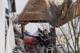 Dos personas mueren por el derrumbe parcial de un edificio en Francia