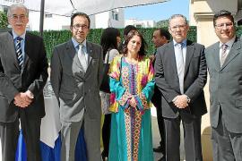 Recepción en la residencia del cónsul de Marruecos en Palma