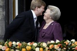 Relevo en el trono de Holanda