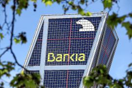 Las acciones de Bankia caen un 53 % en el primer día tras su ampliación de capital