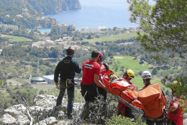 Difícil rescate en Cap Andritxol