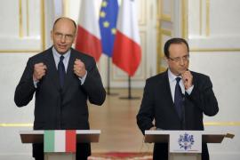 París y Roma, de acuerdo en estimular el crecimiento, exigen unión bancaria