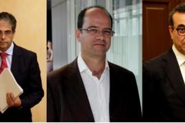 Bosch, Aguiló y Gornés salen del Govern