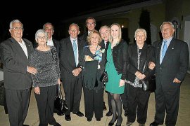 Homenaje a Pedro Pourtau y su esposa