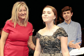 Entrega de premios del concurso de piano Rotary Club Palma Ramon Llull en el Auditórium