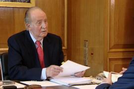 El Rey quiere propiciar un gran pacto  institucional contra el paro