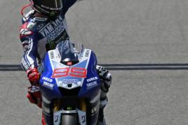 Lorenzo: «Lo importante es la carrera y tengo curiosidad por los neumáticos»