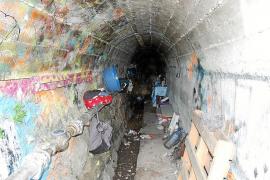 Muere un mendigo hallado en estado grave y atacado por las ratas en Sóller