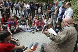 El hermano de Wert pide ante sus alumnos plataformas de debate educativo