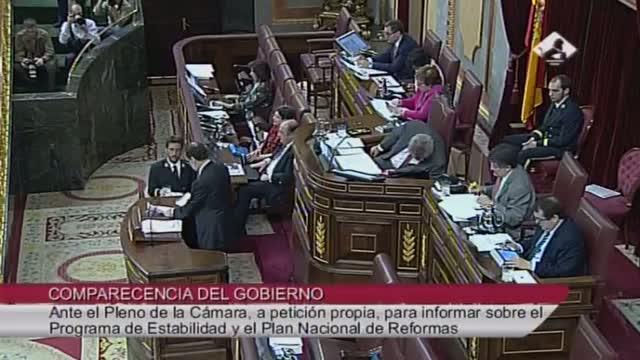 Rajoy provoca risas en el Congreso al empezar su intervención  saludando  al «señor presidente del Gobierno»