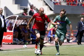 Hutton, López y Bigas, dudas del Mallorca ante el Athletic