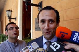 Bauzá: «Nunca tomaremos medidas contra la Fiscalía»