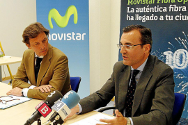Telefónica llevará la fibra óptica a los hogares de Palma