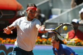 Nadal somete a Andújar y regresa a la final de Madrid
