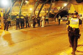 Muerde a un policía y a un vigilante para evitar ser detenido en la Platja de Palma