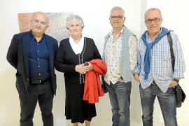 Exposición de Dolors Comas en la galería Marimon de Can Picafort.