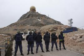 Detenido un hombre que se vistió de militar para colarse en la base del Puig Major