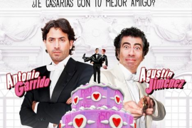 """Antonio Garrido y Agustín Jiménez se casan en """"Una boda feliz"""", teatro"""
