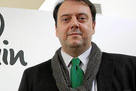 El embajador de Rusia en España, Yuri Korchagin, hoy en el Club Ultima Hora